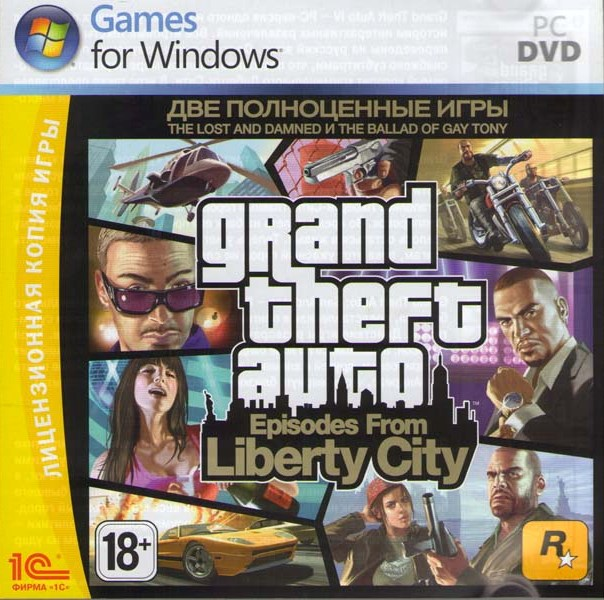 Grand Theft Auto IV: Episodes from Liberty City (Steam)