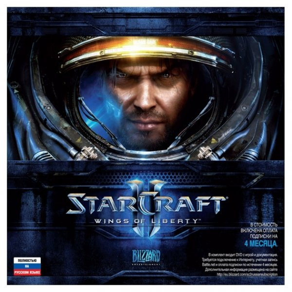 STARCRAFT II WINGS OF LIBERTY ФОТО/EURO/BONUS