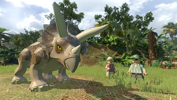 لعبة Lego Jurassic World