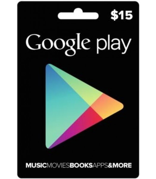 Купить 15$ Google Play Gift Card (US)