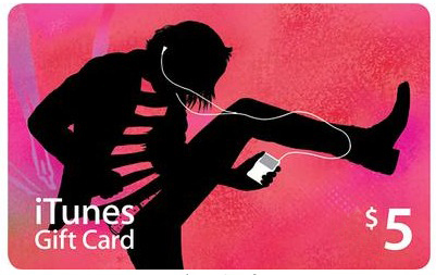 5$ iTunes USA Gift Card - Apple Store