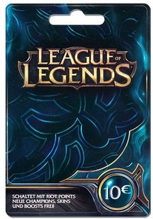 10EUR - 1580RP League of Legends Game Card (EU West)