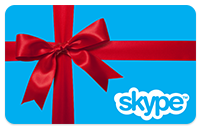 50 USD Skype Voucher Original activation http://www.skype.com