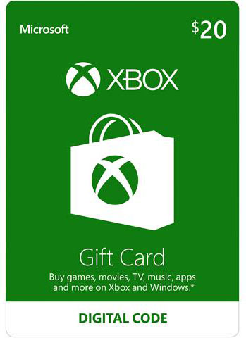 20$ US XBox Gift Card
