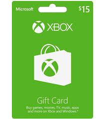 15$ US XBox Gift Card