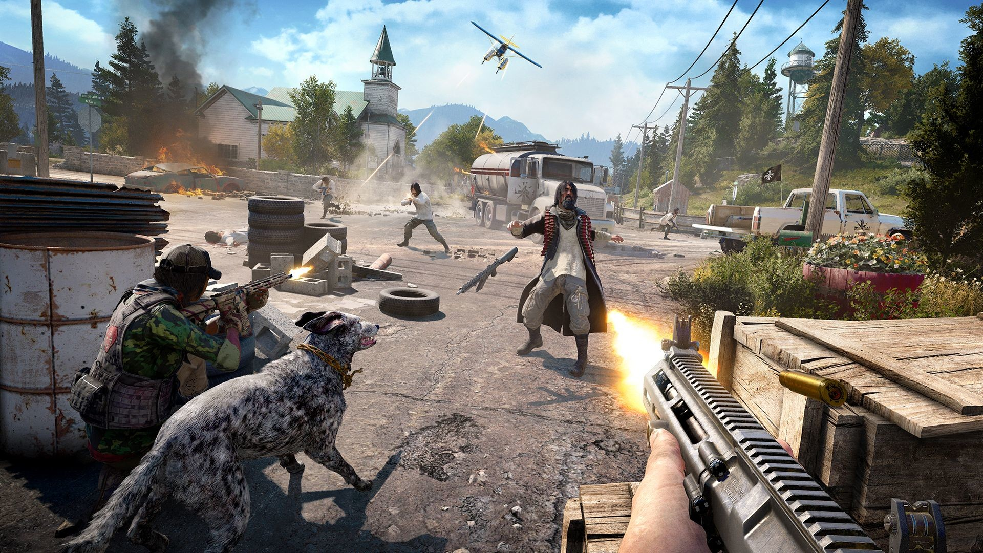 Far Cry 5 (3 version Steam gift Russian only)