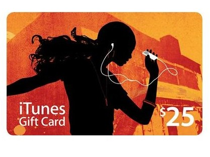 25$ iTunes USA Gift Card  - Apple Store