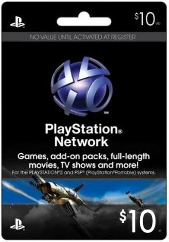 Купить 10$ (USA) PLAYSTATION NETWORK (PSN)