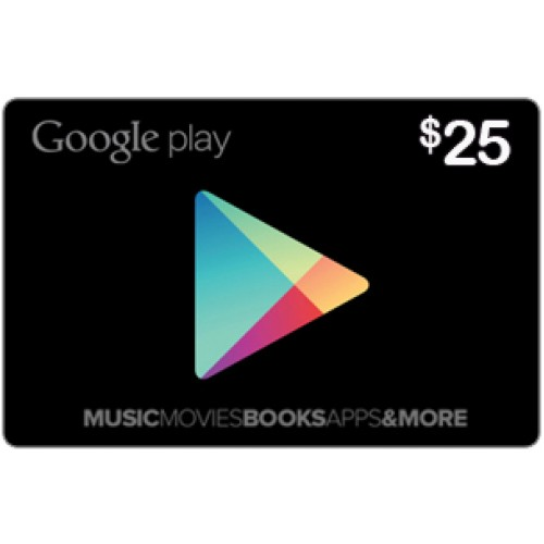 25$ Google Play Gift Card (US)