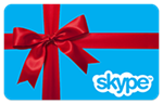 10$ Skype Voucher Original (activation at www.skype.com