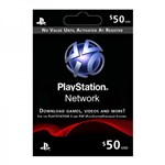 50$ (USA) PLAYSTATION NETWORK (PSN)