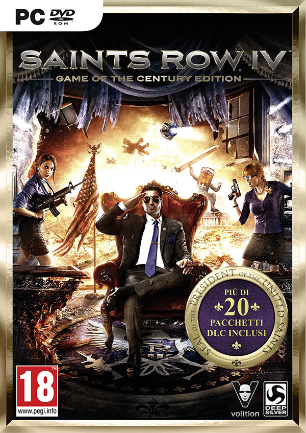Saints Row IV 4 Game of the Century Edition Steam Gift
