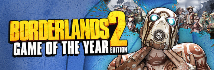 Borderlands 2 Game of the Year (RoW / Steam Gift)