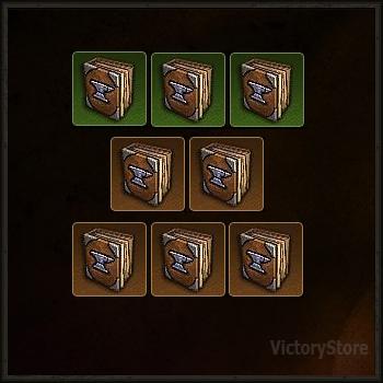 Купить Diablo 3 - [Комплект эскизов 8шт.] (softcore)