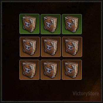 Купить Diablo 3 - [Комплект эскизов 9шт.] (героик)