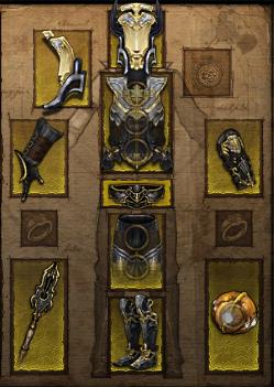 Купить Diablo 3 -  Комплект одежды для чародея 40-48 лвл