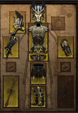 Купить Diablo 3 -  Комплект одежды монах 40-44лвл +Подарок