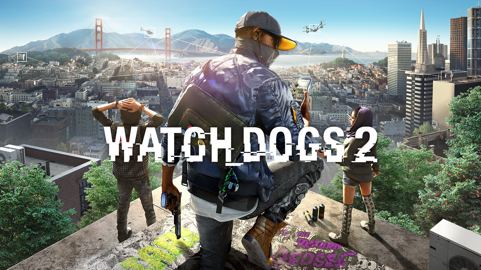 Watch Dogs 2 Deluxe Edition(SteamGift|RU+CIS) + Подарок