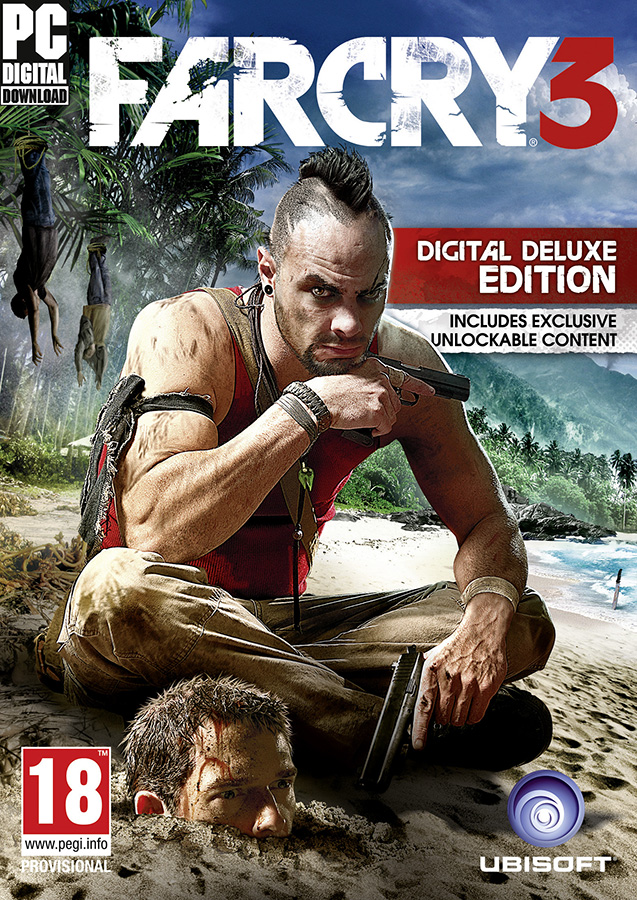 Far Cry 3 Deluxe edition (Uplay Kay row)