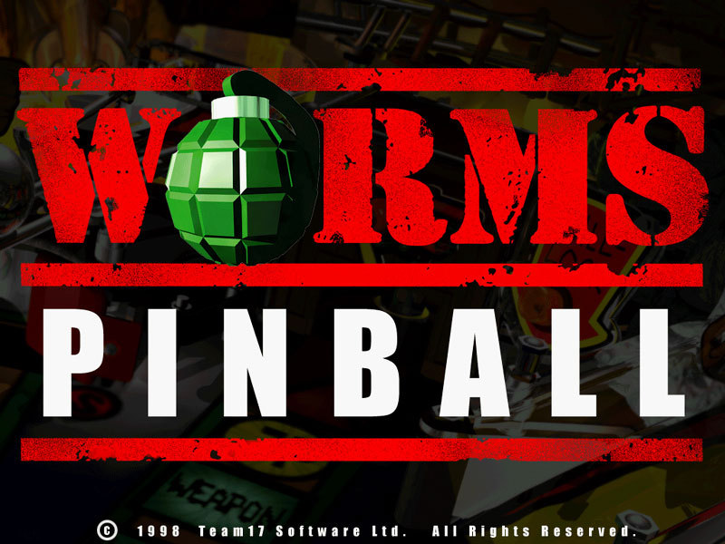 Worms Pinball Region Free( bandle GIFT )