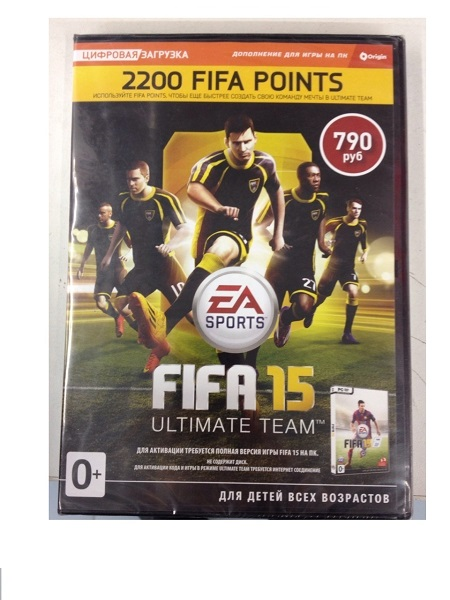 FIFA 15 ULTIMATE TEAM 2200 POINTS RU