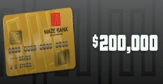 GTA Online: Tiger Shark Cash Card - 200.000$
