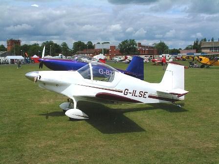 Чертежи одноместного самолета Corby Starlet