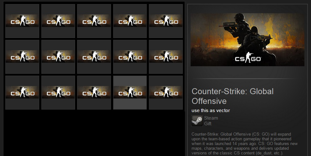 Counter-Strike:Global Offensive (Steam Gift / ROW)