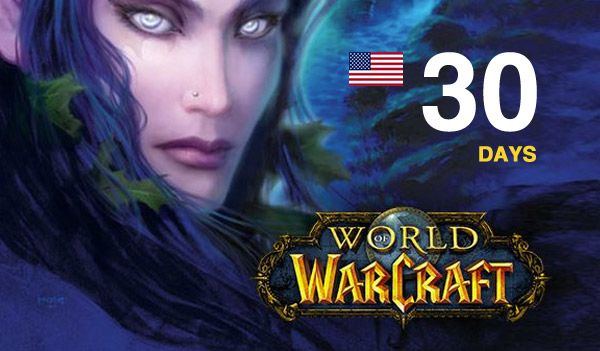 30 days Time Card World of Warcraft US (NA) + Legion