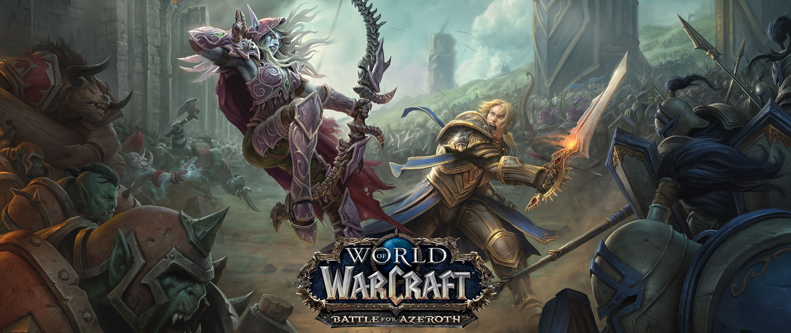World of Warcraft: Battle for Azeroth (US) + LVL 110
