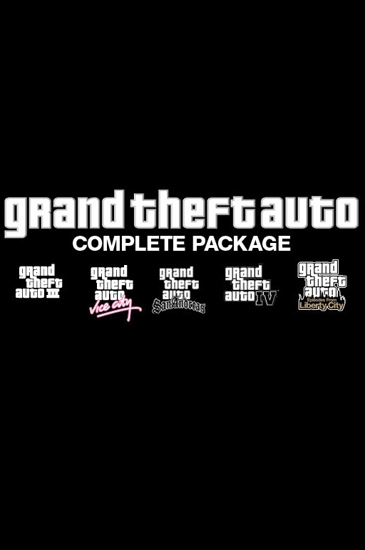 Grand Theft Auto Complete Pack (Region Free/Steam Gift)