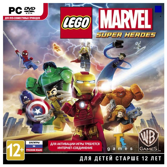 LEGO MARVEL SUPER HEROES (STEAM/PHOTO) REGION FREE
