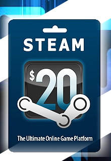 Past Editor's Notes and Discussions. A very rare 19% discount for Steam Wallet cards. When you first click-through you'll notice there's a $ shipping charge but that only applies if you just buy one $20 Steam Wallet card if you buy more than one, shipping is free.
