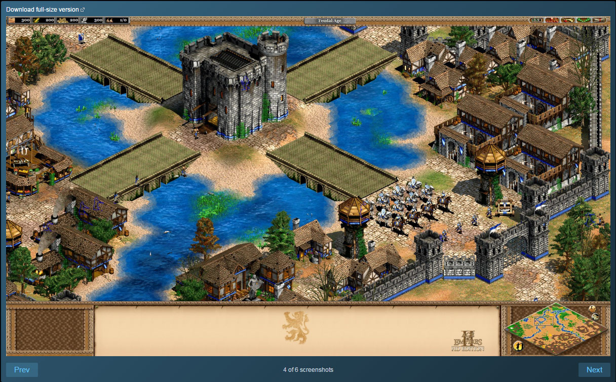 Age of Empires II HD +The Forgotten Expansion (RU+CIS)