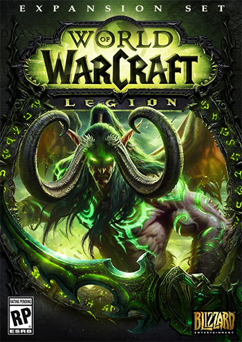 WORLD OF WARCRAFT -WOW- LEGION + 100 ур. (Рус версия)