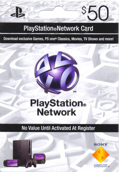 PSN 50$ PlayStation Network (USA) - СКАН + СКИДКИ