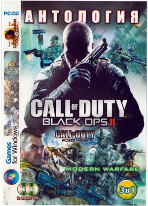 Купить Антология Call of Duty (Bo2, Ghosts)  + др