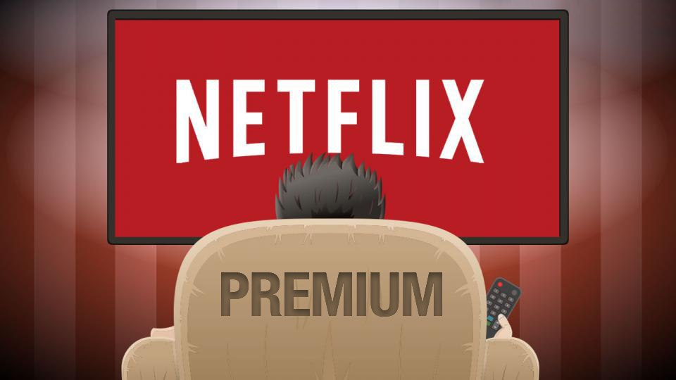 Netflix Premium subscription 30 days