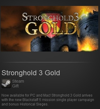 Stronghold 3 Gold (Steam / Region Free)