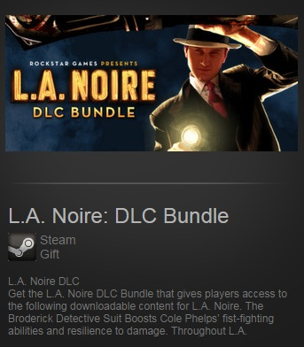 L.A. Noire: DLC Bundle (Steam / Region Free)