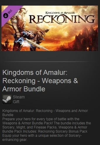 Kingdoms of Amalur: Reckoning Weapons & Armor DLC Steam