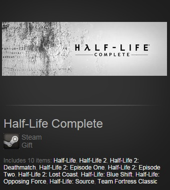 Half-Life Complete (Steam / Region Free)