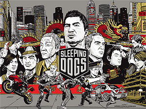 Sleeping Dogs Steam (стим) аккаунт (акк) (REGION FREE)