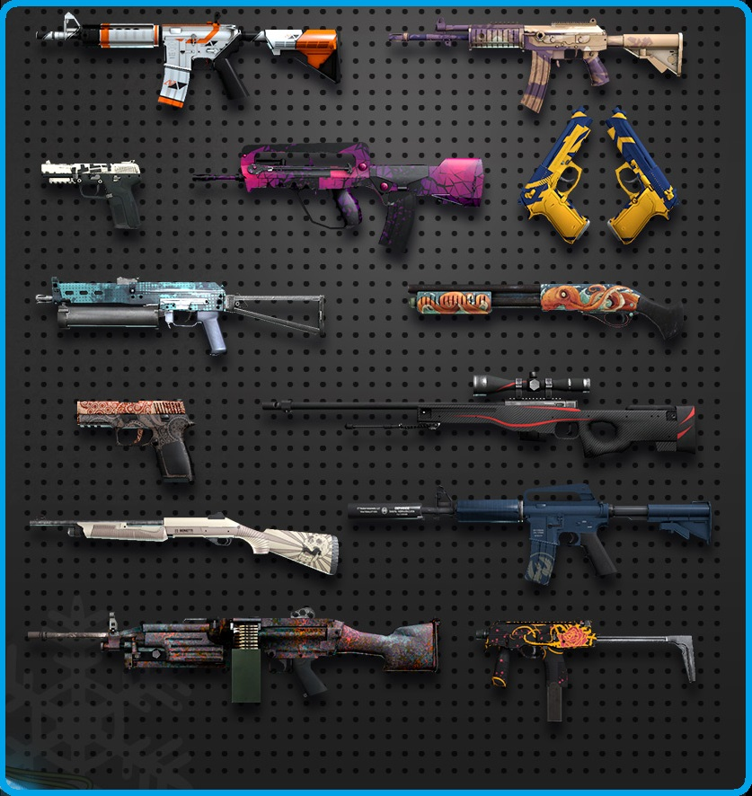 CS: GO Random weapon  (+ discount)