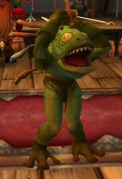 Murloc Costume Suit Blizzcon 2007 Костюм Мурлока