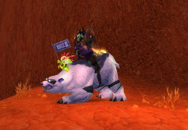 Большой медведь Blizzard Polar bear mount Blizzcon 2008