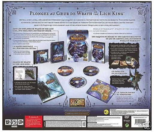 WoW (EU) Wrath of the Lich King Collector´s Edition Key