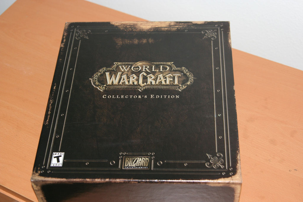 World of Warcraft Collectors Edition Vanilla Europe BOX