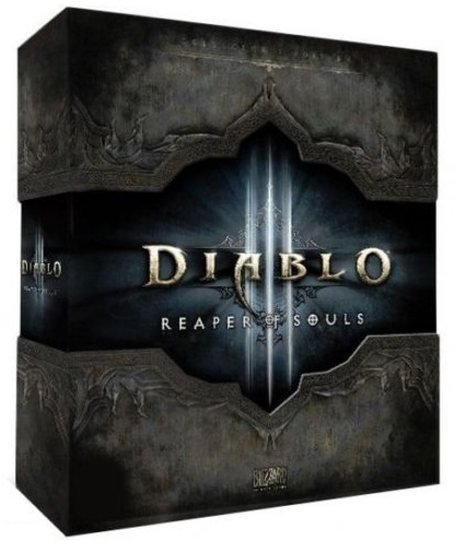 Diablo 3 III Reaper of Souls Collector Cd-key Multilang
