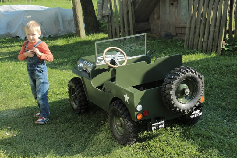 Чертежи рулевого механизма (детский автомобиль Виллис)